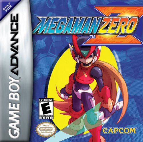 Mega Man Zero Box Art
