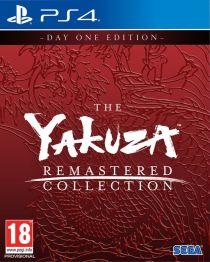 The Yakuza Remastered Collection Box Art