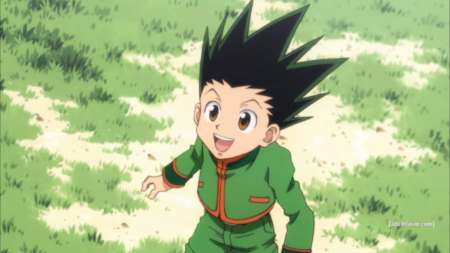Gom, protagonist of Hunter x Hunter