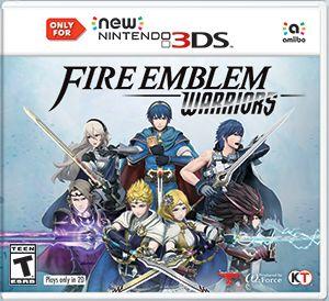 Fire Emblem Warriors 3DS Box Art