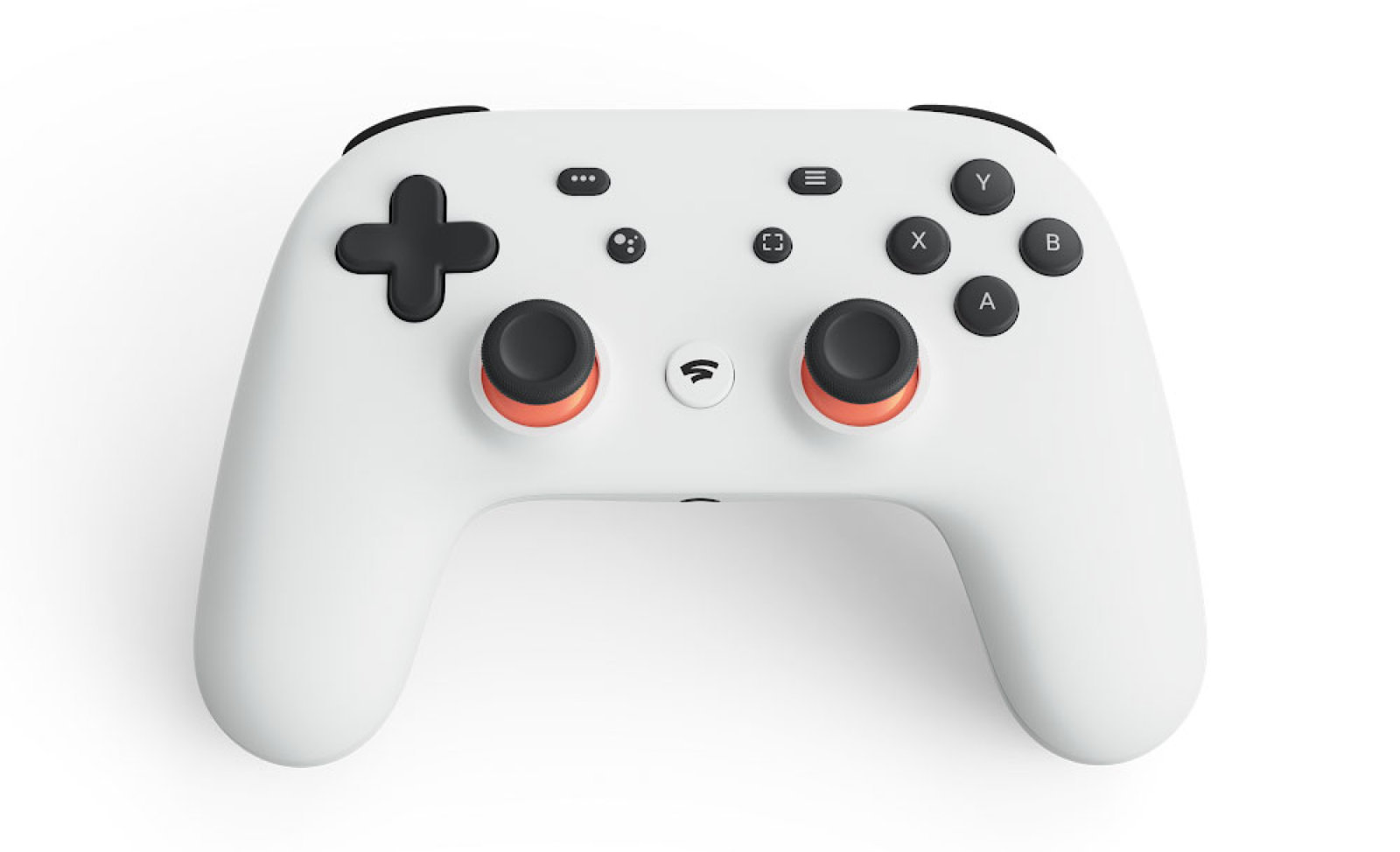 Photo of the Google Stadia controller
